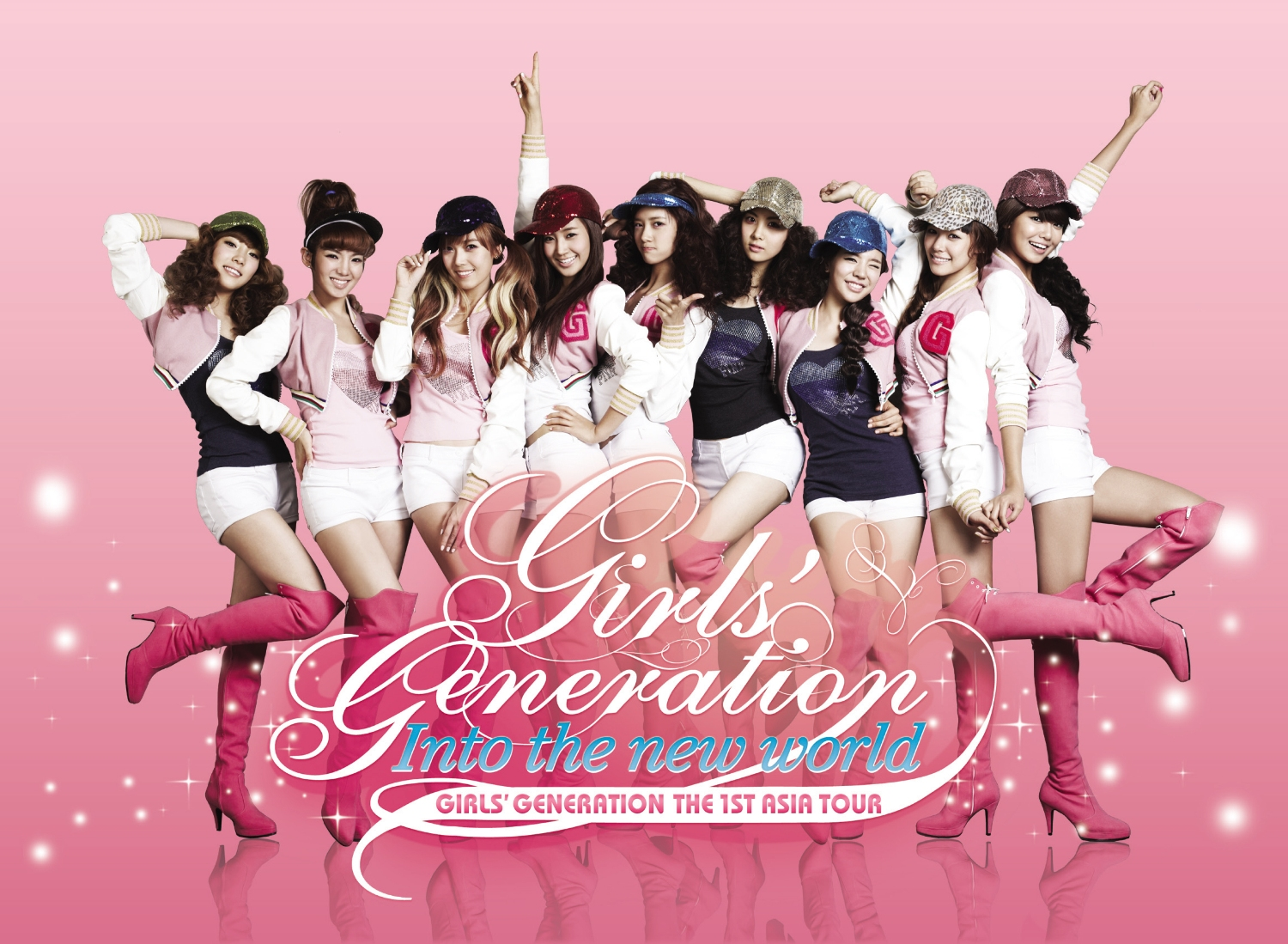 In to the new world GIRLS'GENERATION THE 1ST ASIA TOUR LIVE