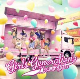 日文單曲Love & Girls 初回限定盤CD+DVD
