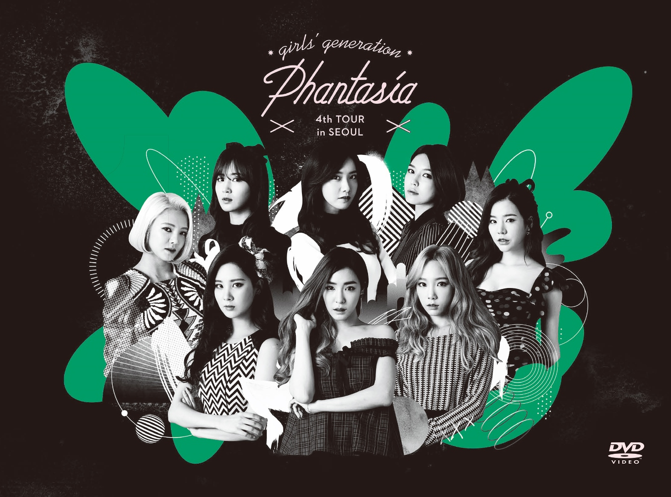 少女時代-Girls' Generation - 4TH TOUR Phantasia in SEOUL《2DVD+寫真書》