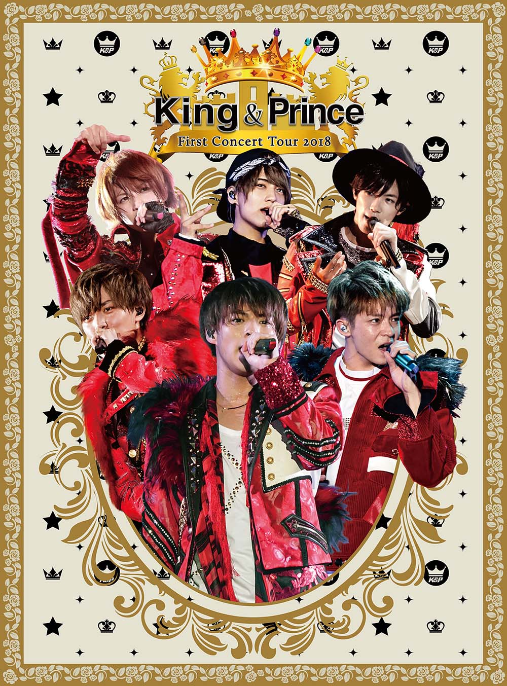 King & Prince-King & Prince First Concert Tour 2018 初回盤 2DVD