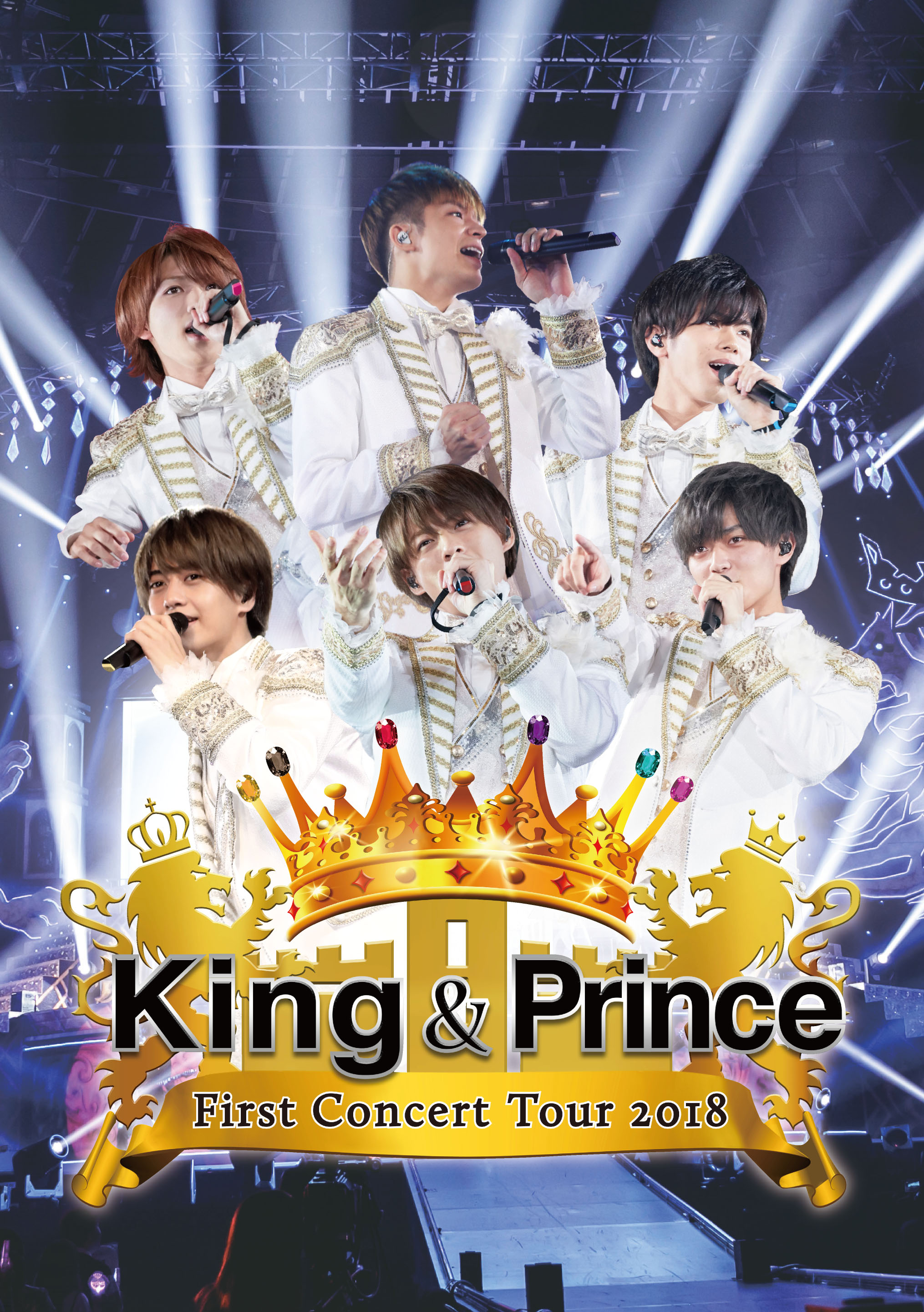King & Prince-King & Prince First Concert Tour 2018 通常盤 2DVD