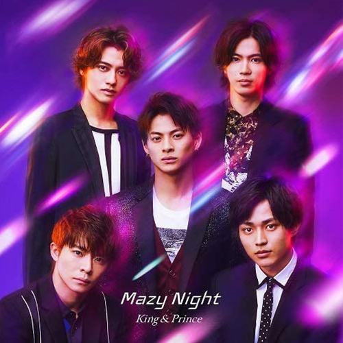 King & Prince-Mazy Night 普通盤 (CD only)