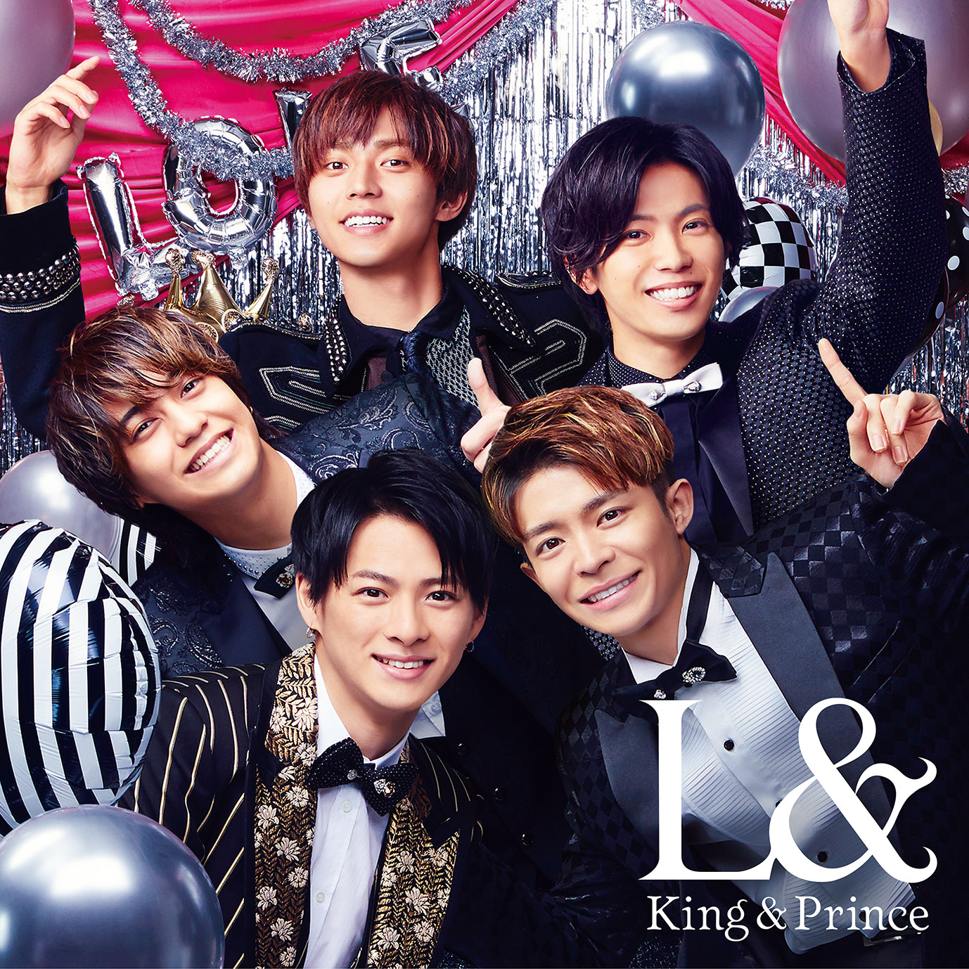 King & Prince-L& 普通盤(CD only)