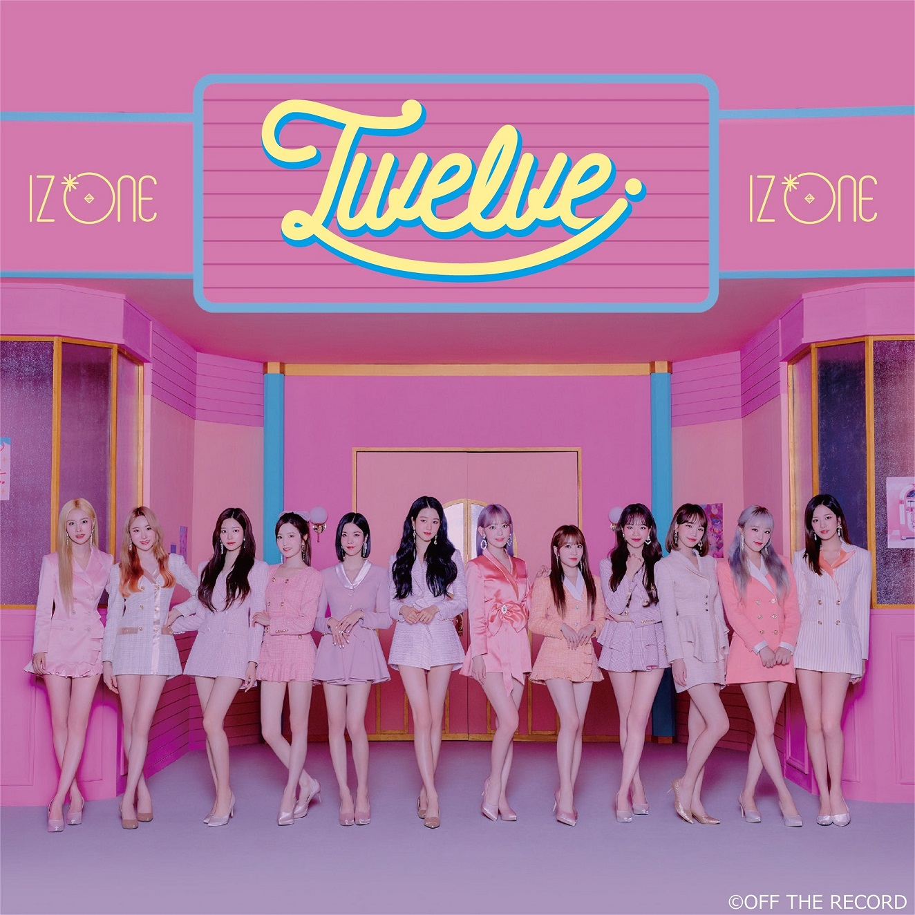 IZ*ONE-Twelve Type A (CD+DVD)