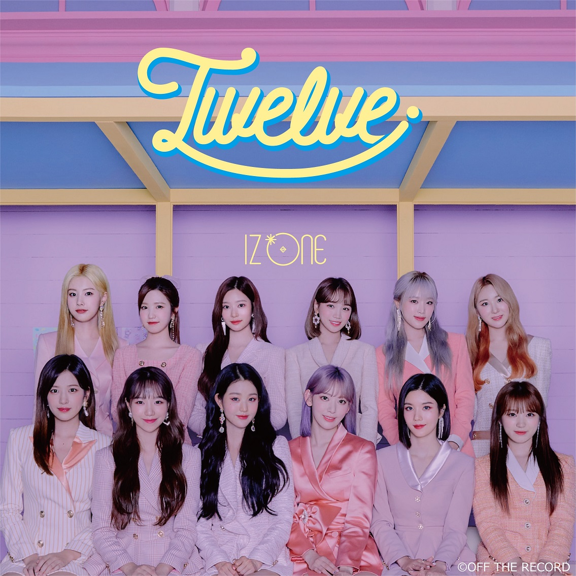 IZ*ONE-Twelve Type B (CD+DVD)